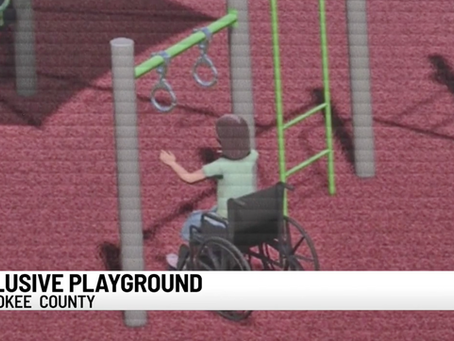 Cherokee Co. boy raising money for county's first-ever all-inclusive playground