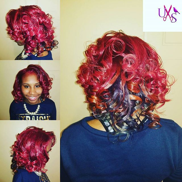 Color and Style #uniquestylesbybird #color #healtyhair #naturalhair #ilovewhatido