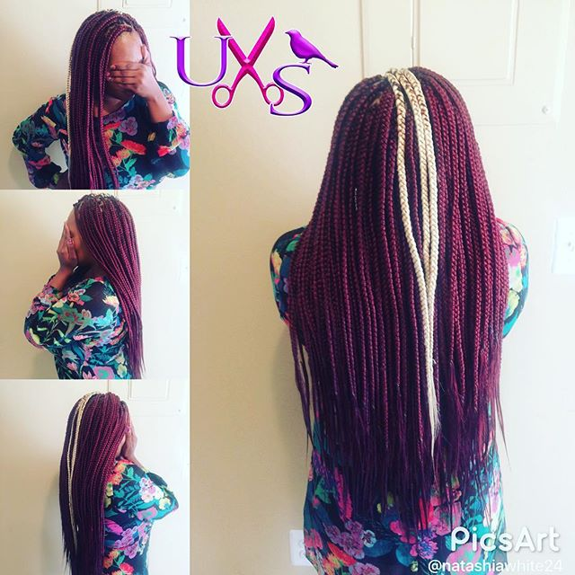 Yesss Box Braids... everyone is coming in for the $75 dollars special. Don't miss out book your appo