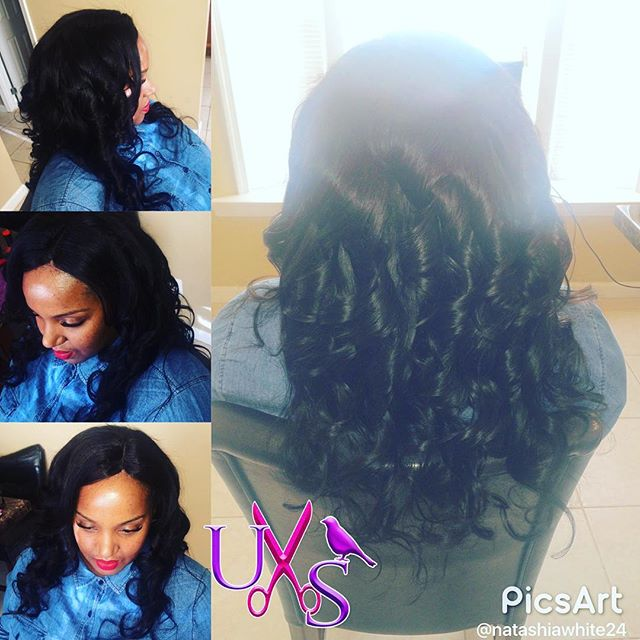 Full Weave with Versatile Closure #uniquestylesbybird #dmvstylist #ilovewhatido #naturalhair #health