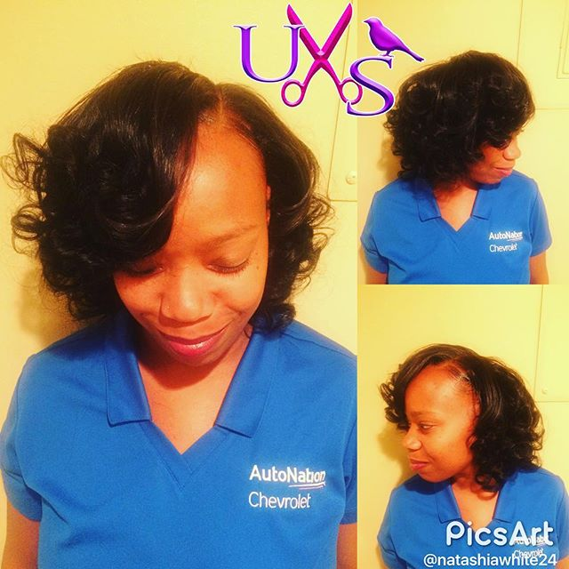Full Sew-In, Deep side part. Special all month just $75