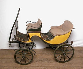 Children's Carriages (5) (Barouche Style
