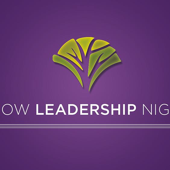 Grow Leadership Night 2021 - Preschool, Children's, Student, Adult Ministries