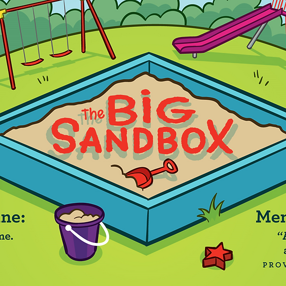 The Big Sandbox - February's Lesson Series in the Preschool Ministry