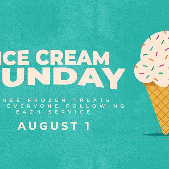 Ice Cream Sunday - Preschool, Children's, Student Adult Ministries