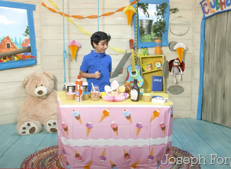 Ice Cream Sundae, Week4: Joseph Forgives