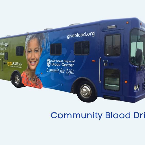 February Blood Drive - Adult Ministry