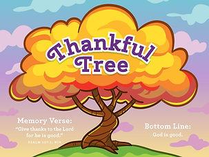 Thankful Tree Grow Group - Preschool Ministry
