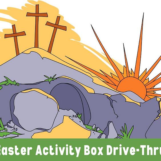Easter Activity Box Drive-Thru – Children's Ministry
