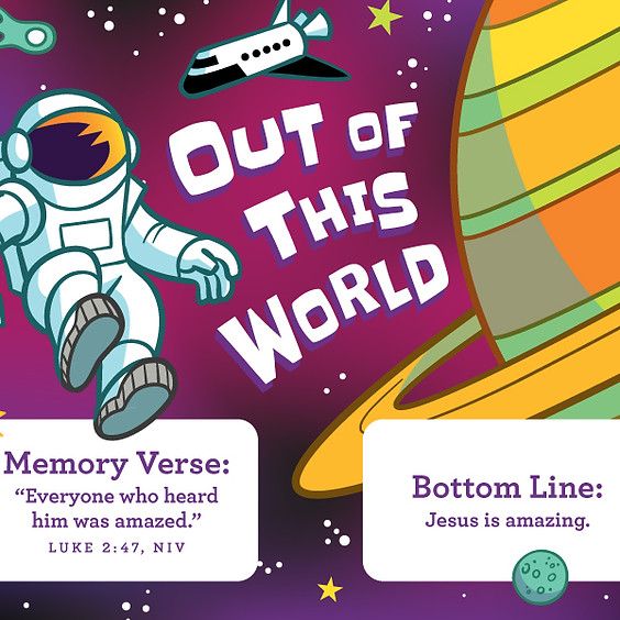 Out of this World - Preschool Ministry