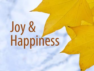 Joy & Happiness - Adult Bible Study