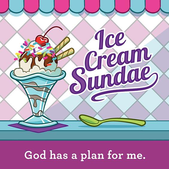 Ice Cream Sundae Grow Group - Preschool Ministry