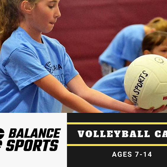 Volleyball Camp - Summer 2021 - Sports Ministry