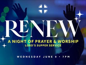 RENEW - A Night of Prayer & Worship