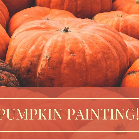 Pumpkin Painting! for Adults, Students, Children, Preschool