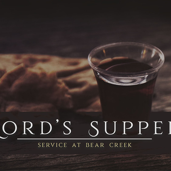 The Lord's Supper Service - Children, Student, Adult
