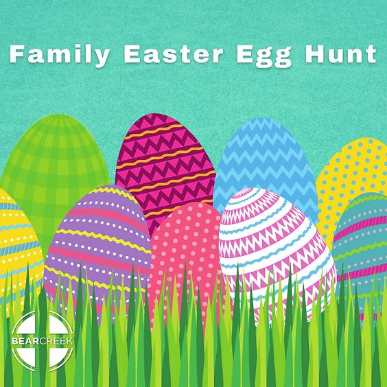 Family Easter Egg Hunt - Preschool, Children, Student, and Adults