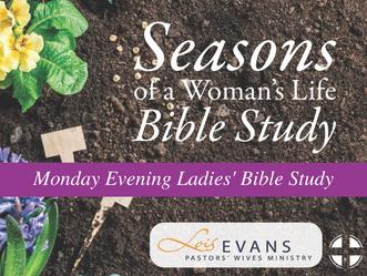 Monday Evening Ladies' Bible Study