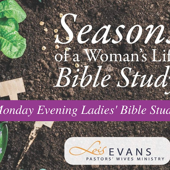 Monday Evening Ladies' Bible Study - Adult Ministries