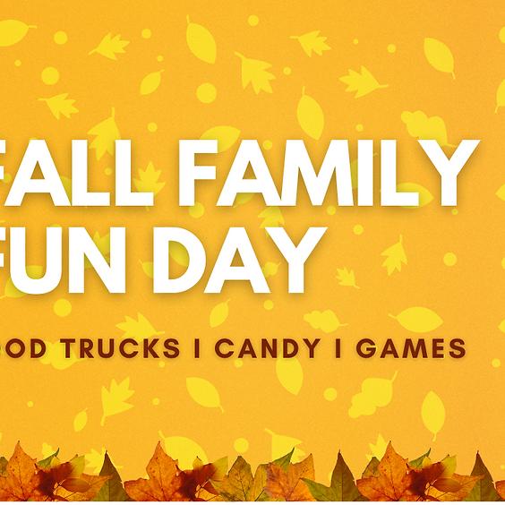Fall Family Fun Day - Preschool, Children, Student, Adult Ministries