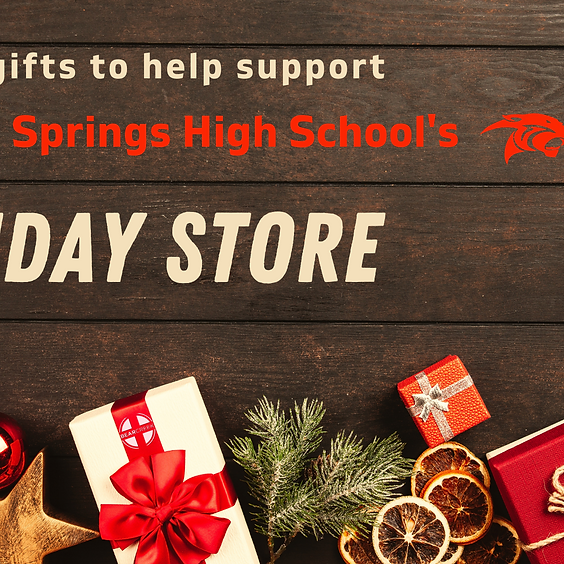 CySprings H.S. Holiday Store Christmas Gift Donation Day