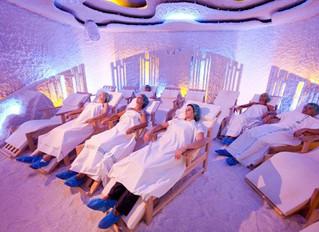 Haloterapia:tratamiento en cuevas de sal.