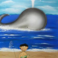 Junge am Meer