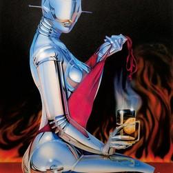 Roboterfrau