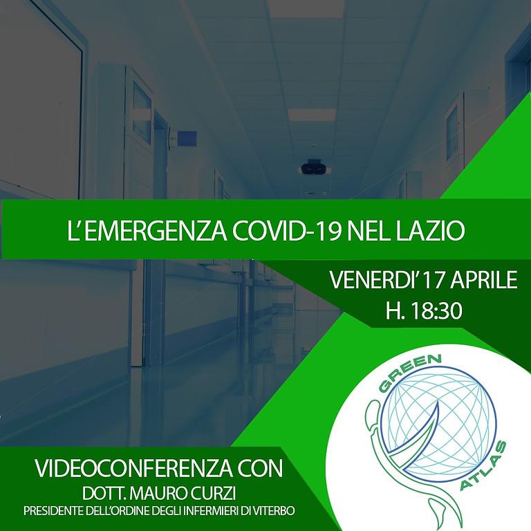 Teleconferenza: Situazione COVID-19 Nel Lazio con il Dott.Curzi