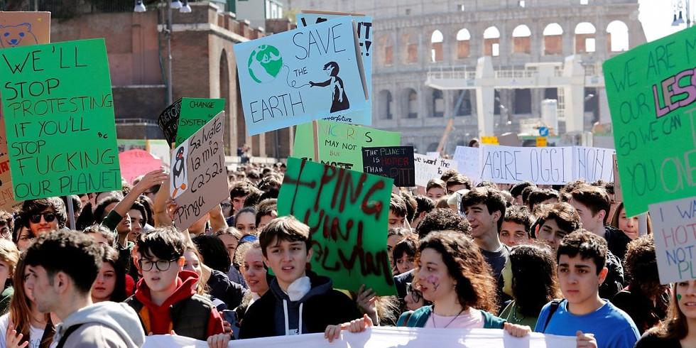 Manifestazione per l' ambiente Fridays for future