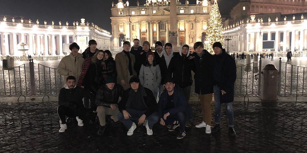 Attività di beneficienza in San Pietro