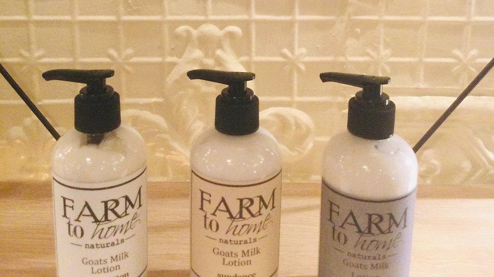 Farm to Home Goats Milk Lotion 8 oz
