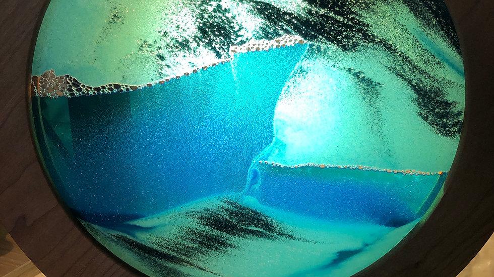 Exotic Sand Moving Art Ocean Blue