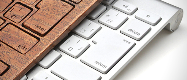 Wooden Keyboard Cover