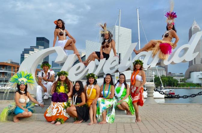 Pacific Paradise Entertainment Cleveland Dance Group