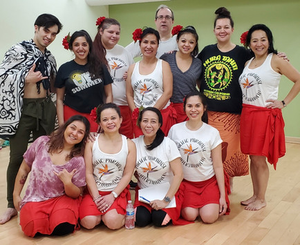 Pacific Paradise Entertainment Dance Group with Mentor Malia Tafua