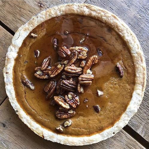 Pumpkin Maple Pecan Specialty Pie