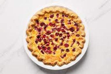 Lemon Cranberry Chess Specialty Pie