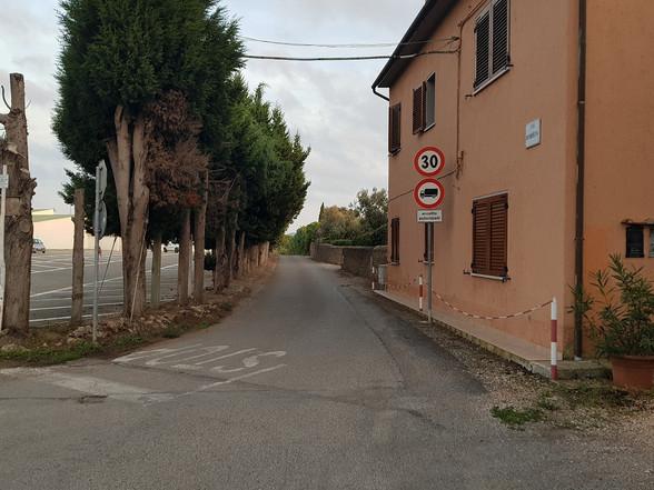 Inizio Via Cameretta