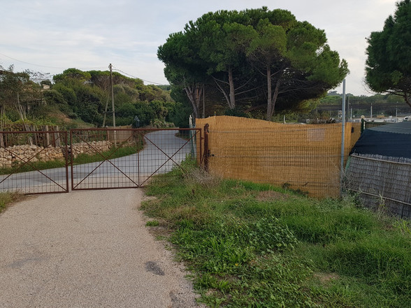 Cancello Cameretta Lato Ansedonia