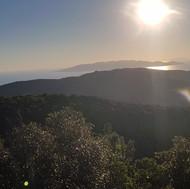 Panorama Isole Giglio e Monte Cristo