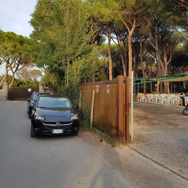 Forestale Parcheggio Lato Porto Ercole