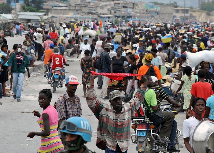Crise humanitaire pour des milliers d'Haïtiens au Texas