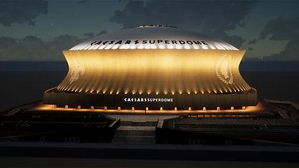 La Vegasification de la Nouvelle-Orléans continue : le Caesars Superdome