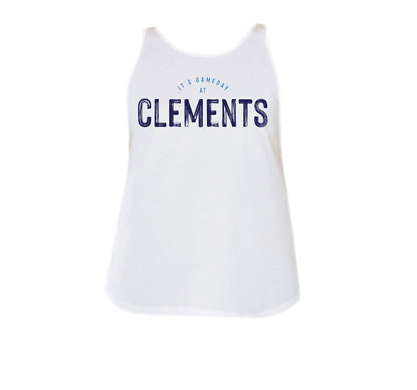 Clements It's Gameday Rounded Tank