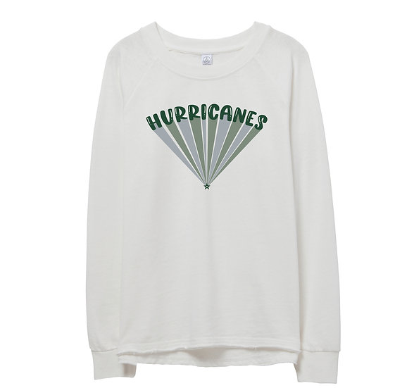 Hightower Bubble Raw-edge Sweatshirt