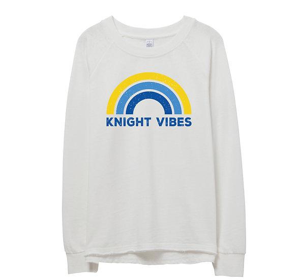 Elkins Rainbow Raw-edge Sweatshirt