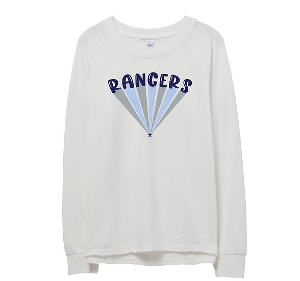 Clements Bubble Raw-edge Sweatshirt