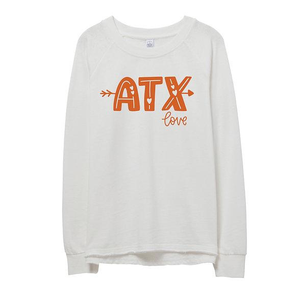 UT City Love Raw-edge Sweatshirt