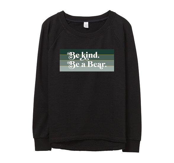 Baylor Be Kind Raw-edge Sweatshirt